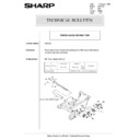 Sharp AR-5132 (serv.man74) Technical Bulletin