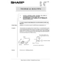 Sharp AR-5132 (serv.man75) Technical Bulletin