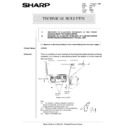 Sharp AR-5132 (serv.man77) Technical Bulletin