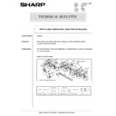 Sharp AR-5132 (serv.man78) Technical Bulletin