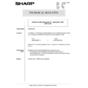 Sharp AR-5132 (serv.man79) Technical Bulletin