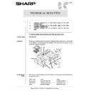 Sharp AR-5132 (serv.man80) Technical Bulletin
