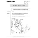 Sharp AR-5132 (serv.man81) Technical Bulletin