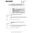 Sharp AR-5132 (serv.man82) Technical Bulletin