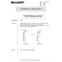 Sharp AR-5132 (serv.man86) Technical Bulletin