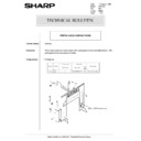 Sharp AR-5132 (serv.man94) Technical Bulletin