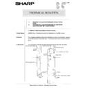 Sharp AR-5132 (serv.man96) Technical Bulletin