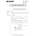 Sharp AR-5132 (serv.man97) Technical Bulletin