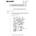 Sharp AR-5132 (serv.man98) Technical Bulletin