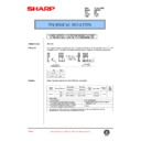 Sharp AR-C150 (serv.man100) Technical Bulletin