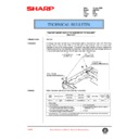 Sharp AR-C150 (serv.man102) Technical Bulletin