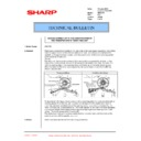 Sharp AR-C150 (serv.man103) Technical Bulletin