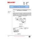 Sharp AR-C150 (serv.man104) Technical Bulletin