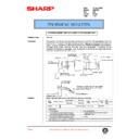 Sharp AR-C150 (serv.man105) Technical Bulletin