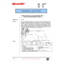 Sharp AR-C150 (serv.man106) Technical Bulletin