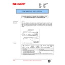 Sharp AR-C150 (serv.man107) Technical Bulletin