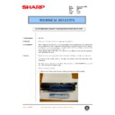 Sharp AR-C150 (serv.man109) Technical Bulletin