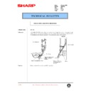 Sharp AR-C150 (serv.man110) Technical Bulletin