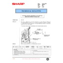 Sharp AR-C150 (serv.man111) Technical Bulletin