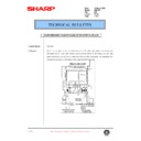 Sharp AR-C150 (serv.man112) Technical Bulletin