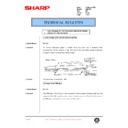 Sharp AR-C150 (serv.man113) Technical Bulletin
