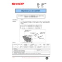 Sharp AR-C150 (serv.man114) Technical Bulletin