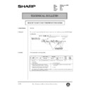 Sharp AR-C150 (serv.man116) Technical Bulletin