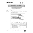 Sharp AR-C150 (serv.man117) Technical Bulletin