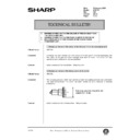 Sharp AR-C150 (serv.man118) Technical Bulletin