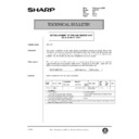 Sharp AR-C150 (serv.man119) Technical Bulletin