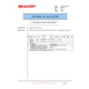 Sharp AR-C150 (serv.man19) Technical Bulletin