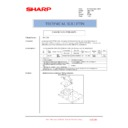 Sharp AR-C150 (serv.man20) Technical Bulletin