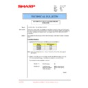 Sharp AR-C150 (serv.man27) Technical Bulletin