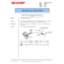 Sharp AR-C150 (serv.man29) Technical Bulletin