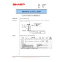 Sharp AR-C150 (serv.man31) Technical Bulletin
