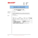 Sharp AR-C150 (serv.man32) Technical Bulletin