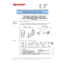 Sharp AR-C150 (serv.man33) Technical Bulletin