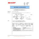 Sharp AR-C150 (serv.man36) Technical Bulletin