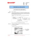 Sharp AR-C150 (serv.man40) Technical Bulletin