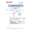 Sharp AR-C150 (serv.man44) Technical Bulletin