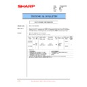 Sharp AR-C150 (serv.man46) Technical Bulletin