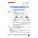 Sharp AR-C150 (serv.man47) Technical Bulletin