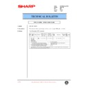 Sharp AR-C150 (serv.man48) Technical Bulletin