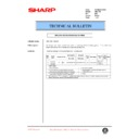Sharp AR-C150 (serv.man50) Technical Bulletin