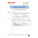 Sharp AR-C150 (serv.man51) Technical Bulletin