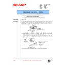 Sharp AR-C150 (serv.man54) Technical Bulletin
