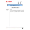 Sharp AR-C150 (serv.man63) Technical Bulletin