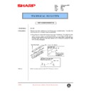 Sharp AR-C150 (serv.man68) Technical Bulletin