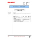 Sharp AR-C150 (serv.man73) Technical Bulletin