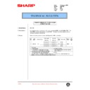 Sharp AR-C150 (serv.man75) Technical Bulletin